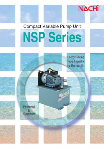 Compact Variable Pump Unit NSP Series