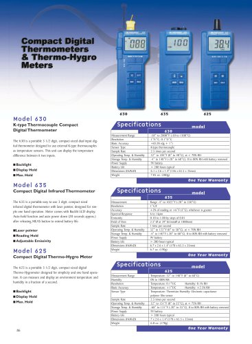 Dual K-type Thermometer