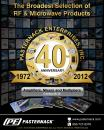 Catalog 2012A - RF Amplifiers, Mixers, Multipliers