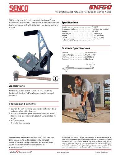 shf50 senco pdf catalogue technical documentation brochure rh pdf directindustry com