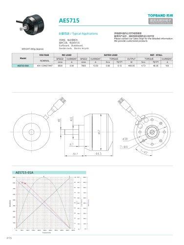 TOPBAND-Brushless DC MOTOR-AE5715 - Shenzhen Topband Co , Ltd - PDF