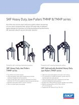 SKF Heavy Duty Jaw Pullers TMMP & TMHP series