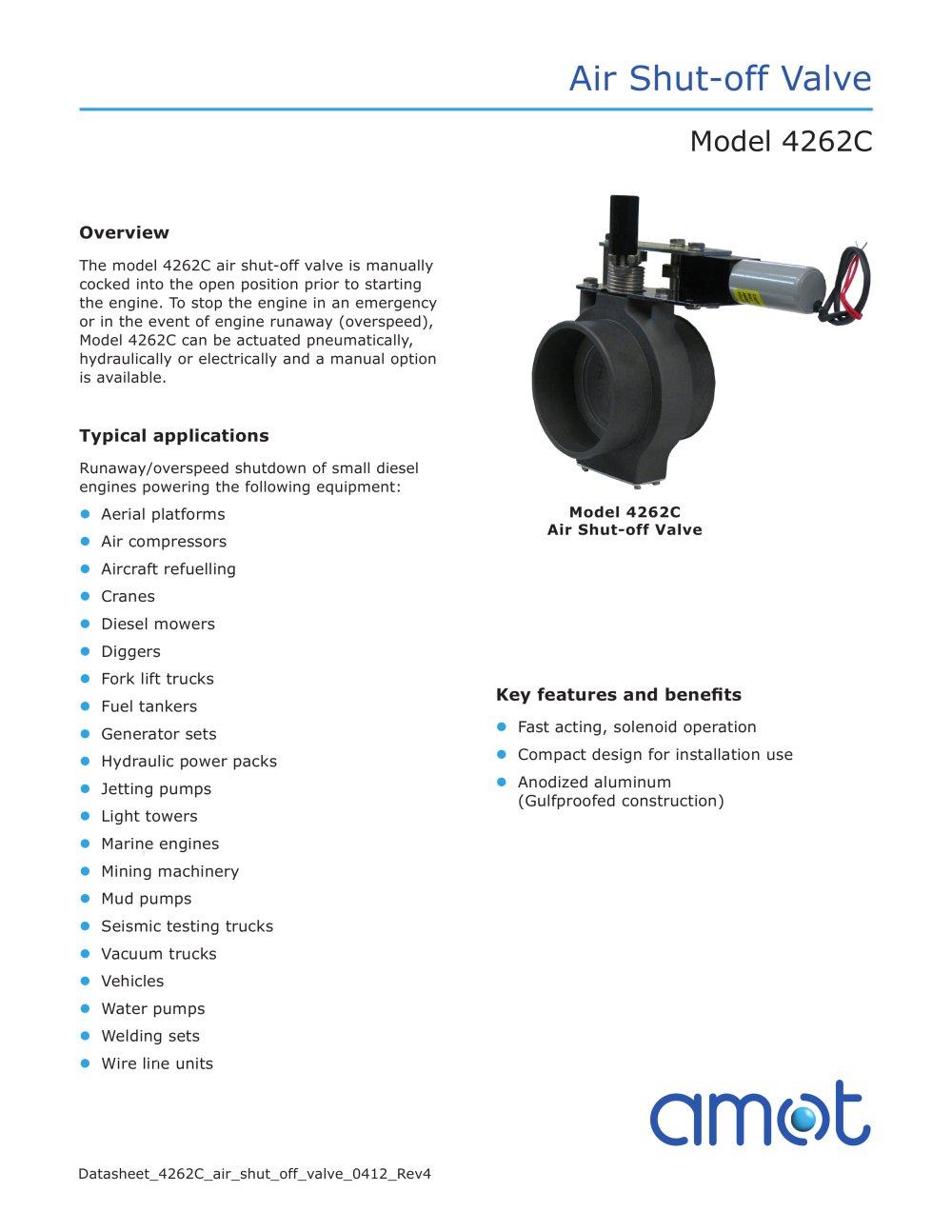 Intake Air Shutoff Valve - 1 / 4 Pages