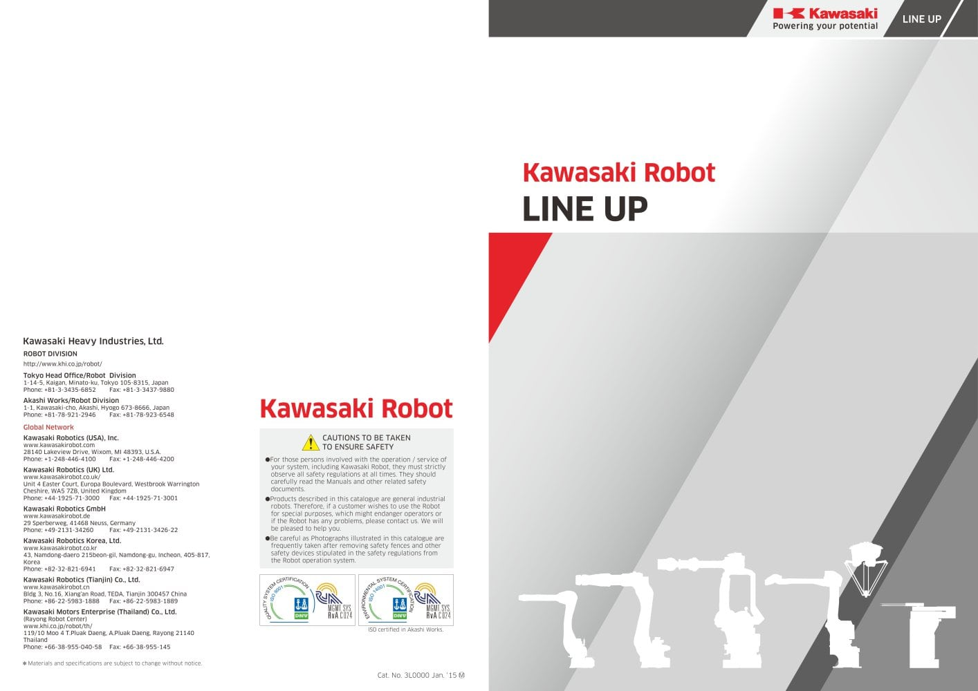 Lineup Kawasaki Robotics Gmbh Pdf Catalogs Technical