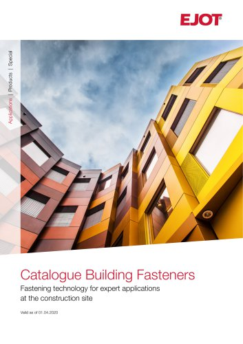 Roo ng & Cladding Catalogue - EJOT - PDF Catalogs | Technical