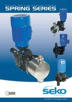 MOTOR DRIVEN DOSING PUMPS SPRING SERIES
