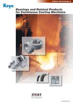 Bearings for Continuous Casting Machines