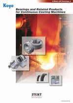 Bearings and Related Products for Continuous Casting Machines
