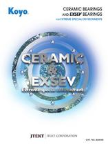 CERAMIC &amp; EXSEV BEARINGS
