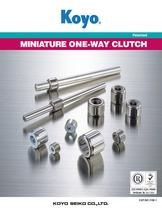 Miniature One Way Clutch