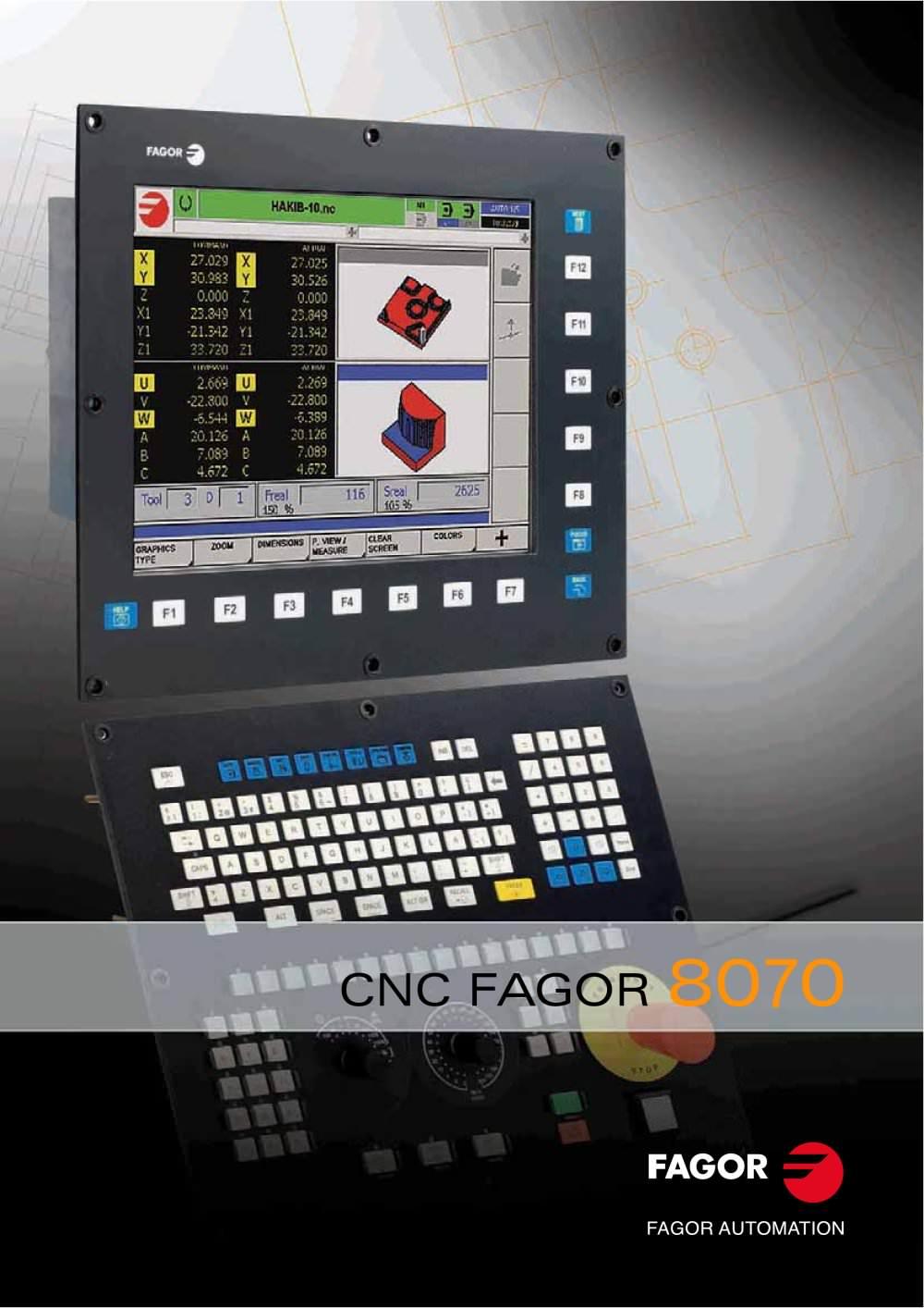 CNC 8070 - 1 / 17 Pages