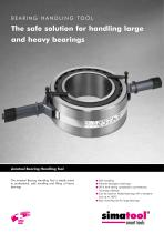 Flyer Bearing Handling Tool english