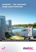 Technical information for wastewater and sewage treatment plants