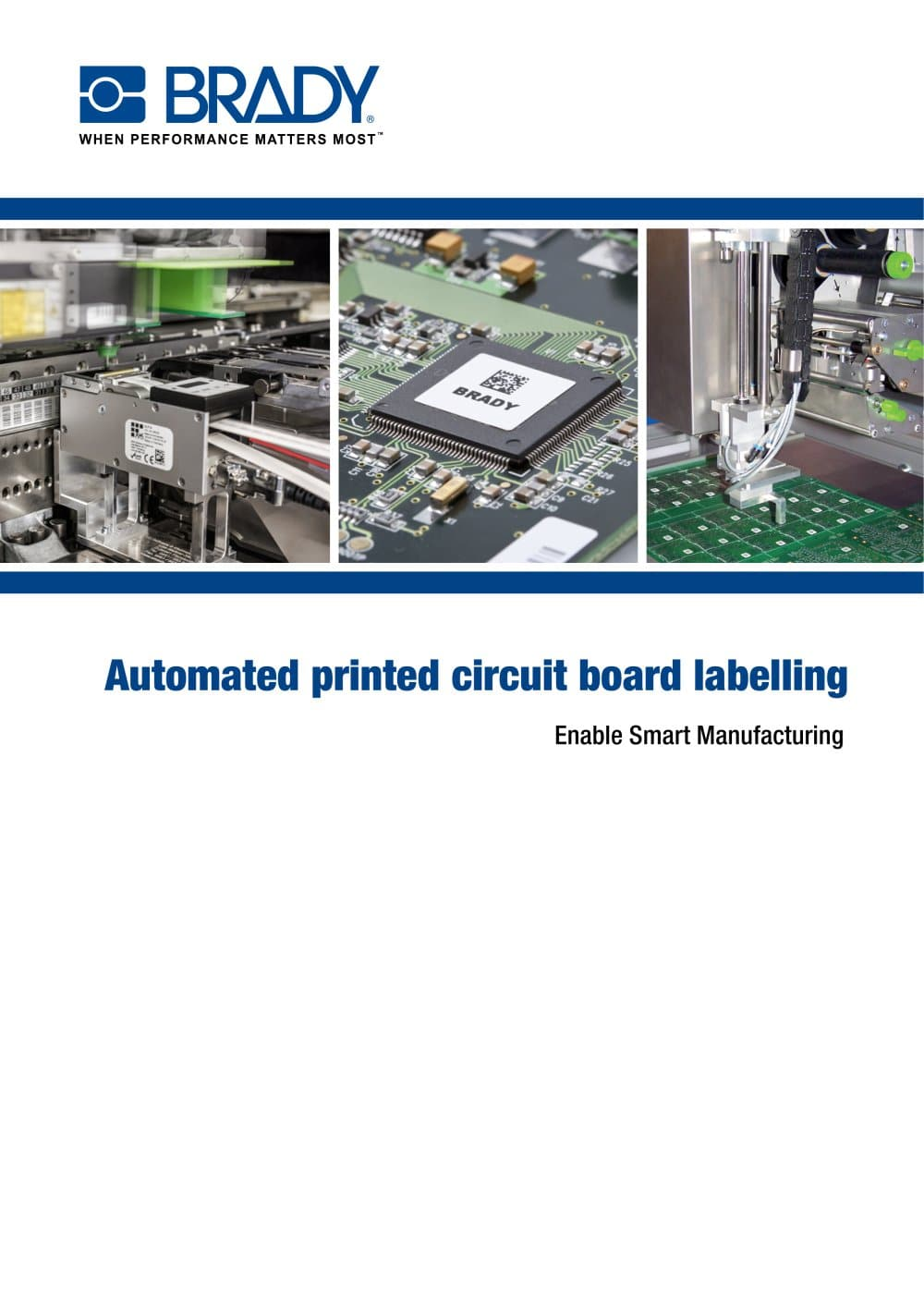 Automated Printed Circuit Board Labelling Brochure Brady Custom Assembly Services 1 12 Pages