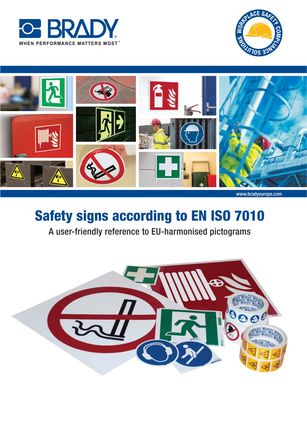 Iso Safety Signs Brady Identification Solutions Pdf Catalogue