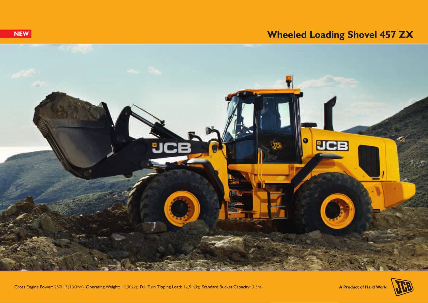 Wheeled Loading Shovel 457 ZX - 1 / 12 Pages