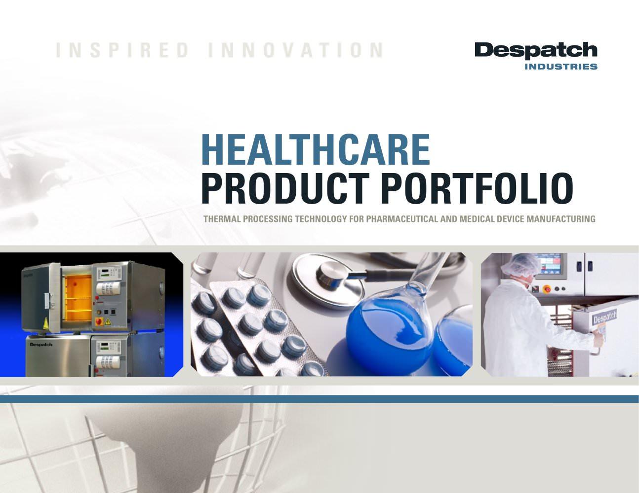 Healthcare Brochure Despatch Industries PDF Catalogue – Healthcare Brochure