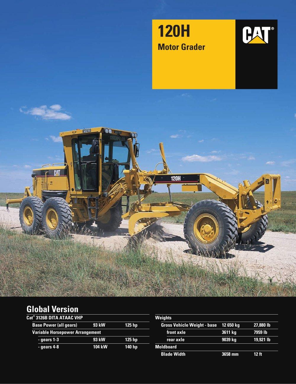 Catalogue caterpillar pdf