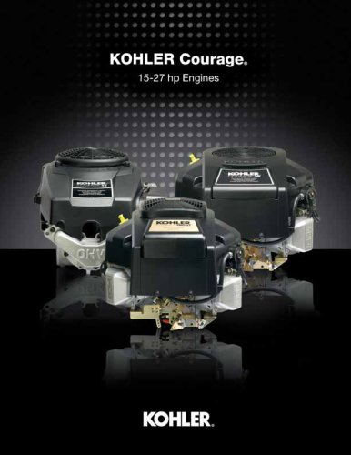 SV 540 ESSENCE - Kohler - PDF Catalogs | Technical