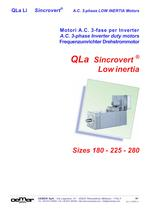 A.C. 3-phase Inverter duty motors QLa Li