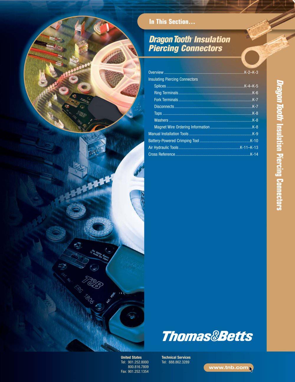 Dragon Tooth® - Thomas & Betts - PDF Catalogue | Technical ...
