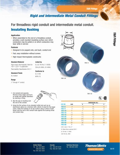 T&B® Conduit Fittings