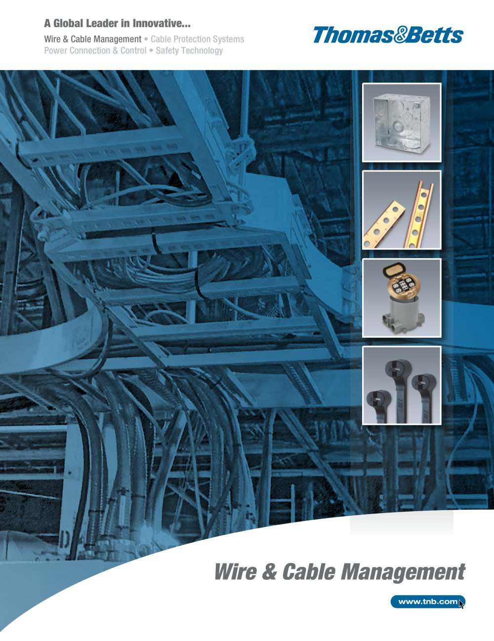 Wire and Cable Management - Thomas & Betts - PDF Catalogue ...