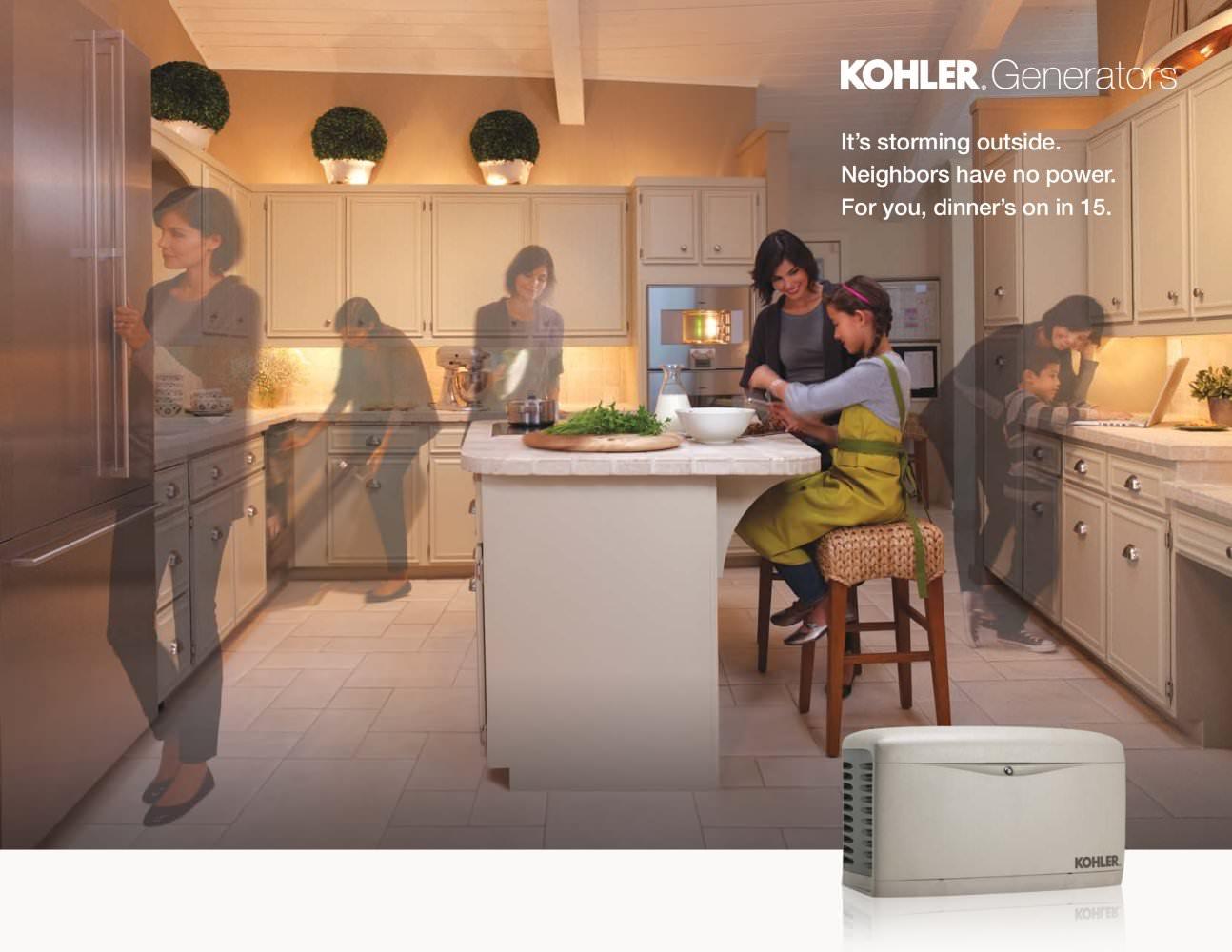 Kohler Home Generators Full Line Brochure - KOHLER POWER SYSTEMS ...