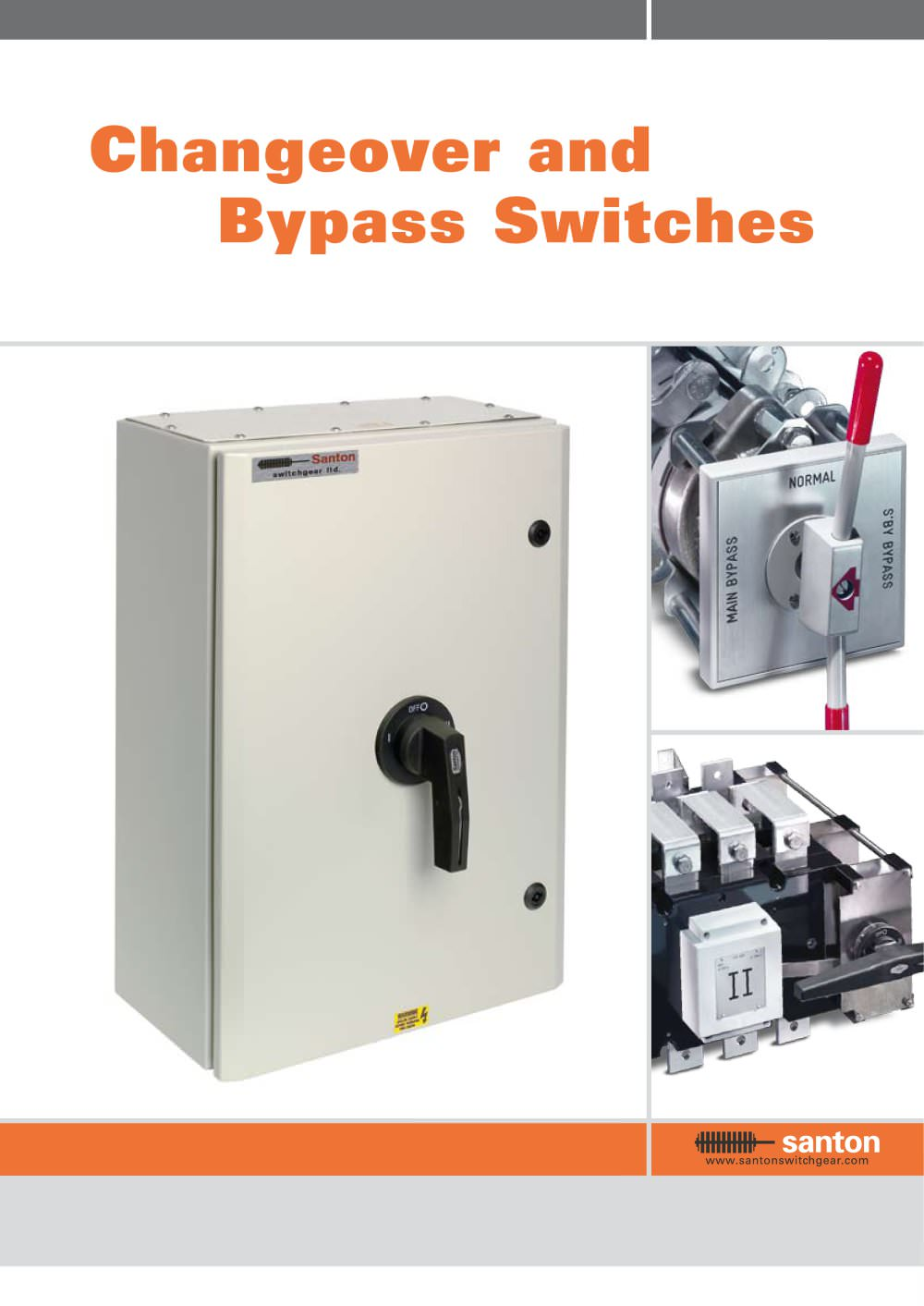 Changeover and Bypass Switches - Santon - PDF Catalogue | Technical ...