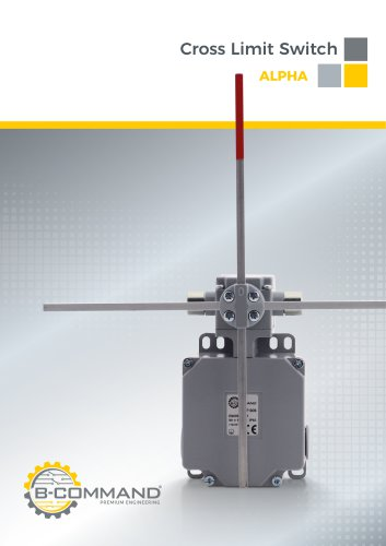 Cross Limit Switches Series Alpha B-COMMAND