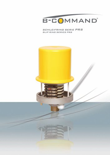 Slip Ring Series PRS B-COMMAND