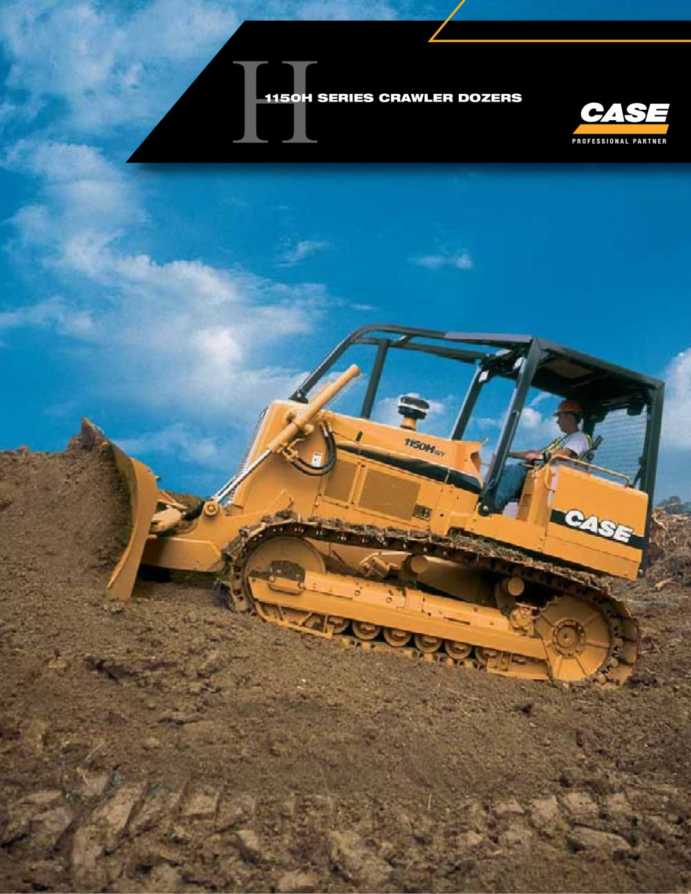 Crawler Dozers - 1150H Brochure - 1 / 8 Pages
