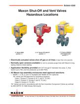 NI Series Hazardous Duty Valves