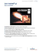 OXY-THERM LE Natural Gas Burners
