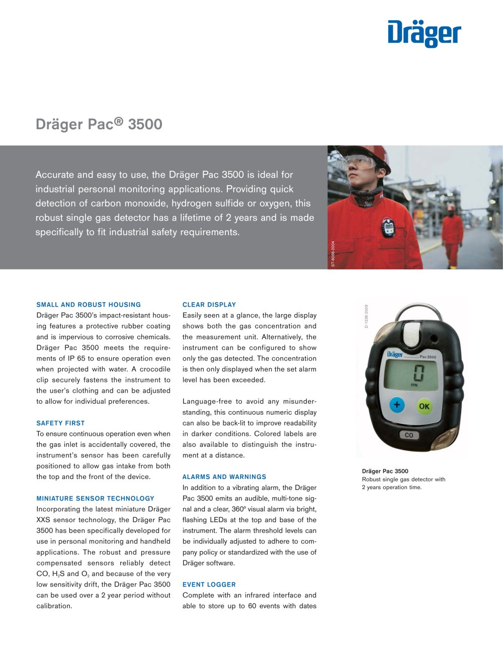 dräger pac 3500 dräger safety pdf catalogue technical