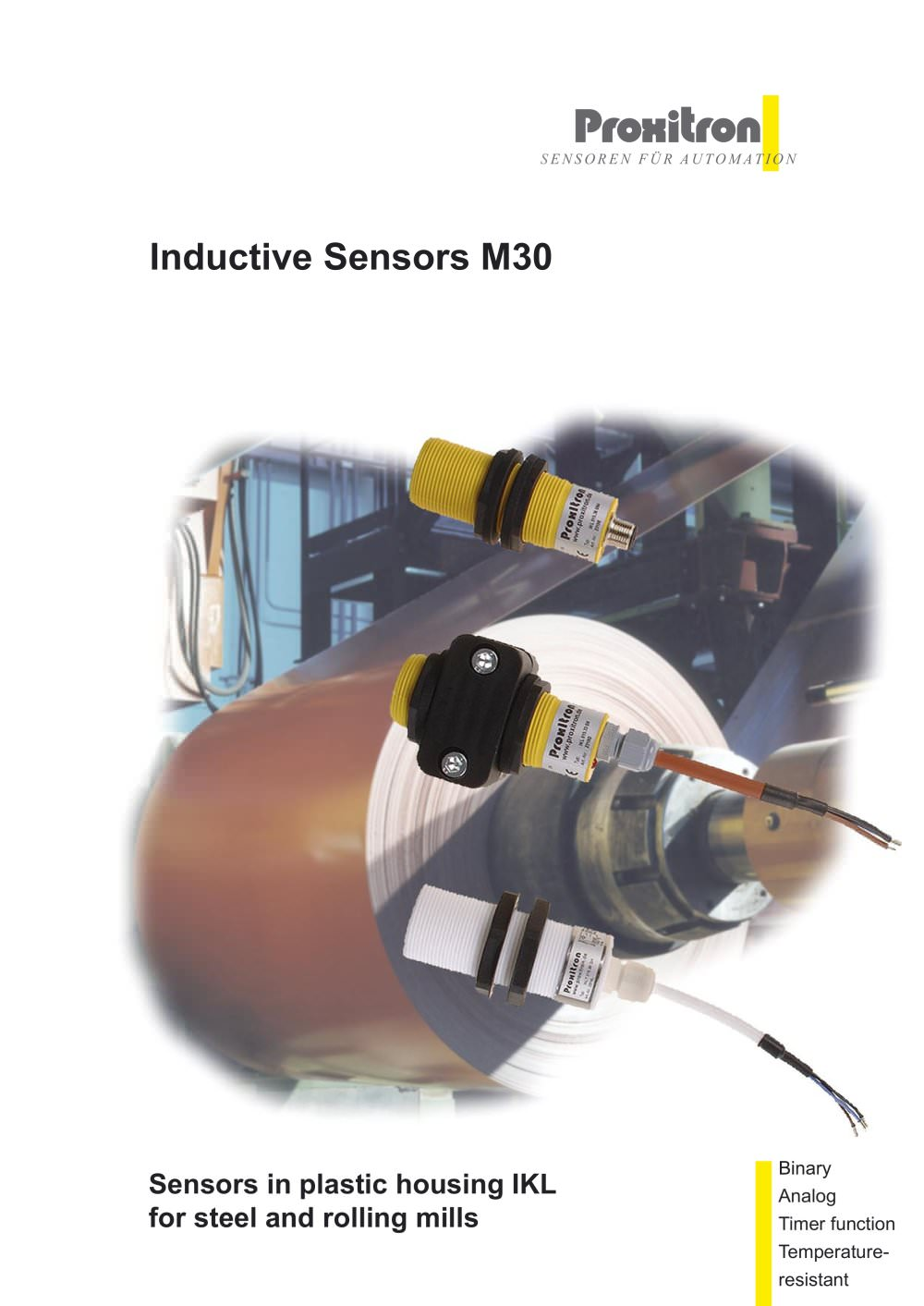 Inductive Proximity Switches For Low And Medium Switching Distances 2wire M12 Rapid Online 20 Mm 1 13 Pages