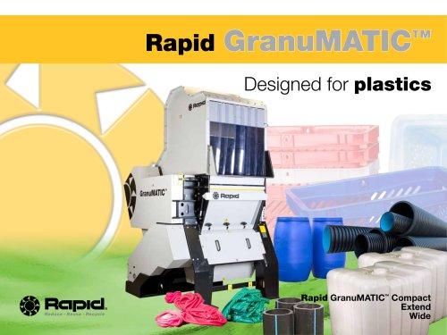 Rapid GranuMATIC - Rapid Granulator - PDF Catalogs   Technical