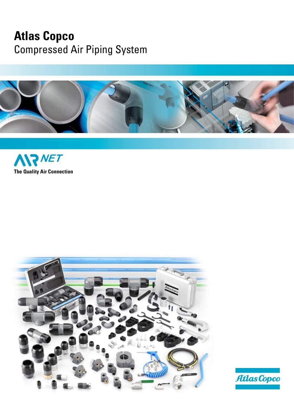 Atlas Copco Compressed Air Piping System Compressors Layout Compressor 1 7 Pages