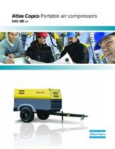 Atlas Copco Portable air compressors XAS 185 JD7