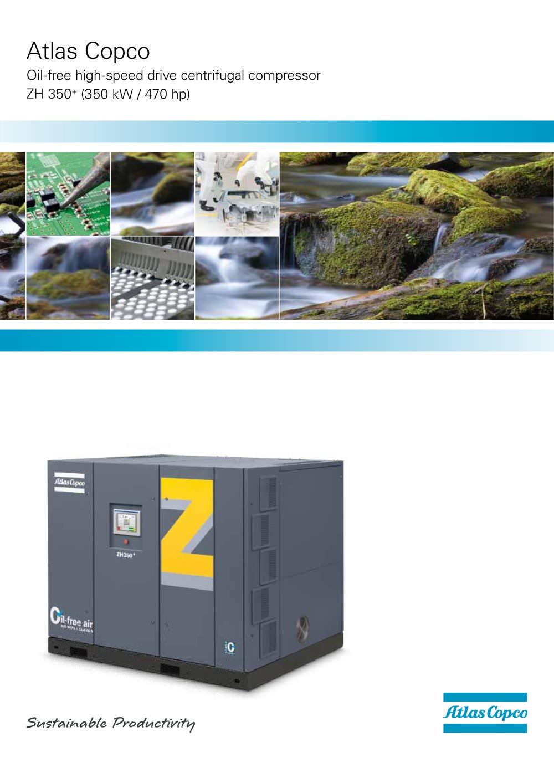 brochure zh 350 atlas copco compressors usa pdf catalogue rh pdf directindustry com Atlas Copco Tools Atlas Copco Tools