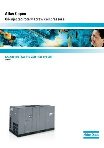 manual compressor atlas copco ga 160