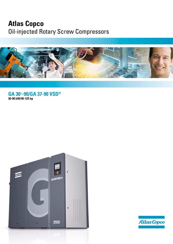 ga 30 90 ga 37 90 vsd atlas copco compressors usa pdf rh pdf directindustry com Atlas Copco GA 15 Atlas Copco Compressors