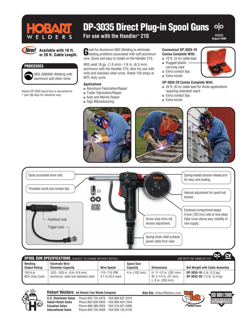 DP-3035 - Hobart - PDF Catalogue | Technical Documentation | Brochure