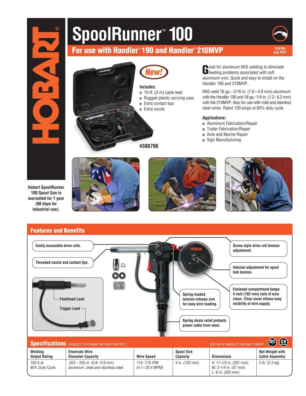SpoolRunner 100 - Hobart - PDF Catalogue | Technical Documentation ...