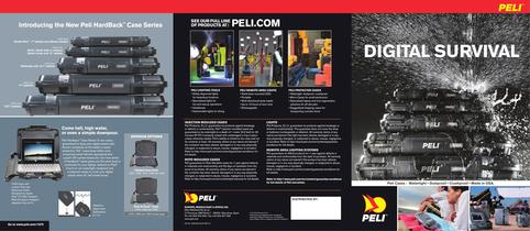 Peli Digital Protection Cases brochure 2012