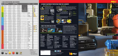 Watertight protector cases - Full Line Brochure 2012