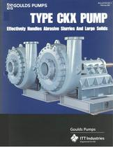 CKX Pump (Abrasive Slurries and Large Solids)