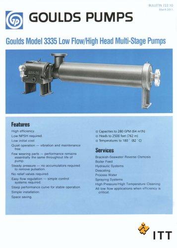 Goulds 3335 - Goulds Pumps - PDF Catalogs   Technical Documentation