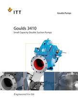 Goulds 3410 Small Capacity Double Suction Pumps