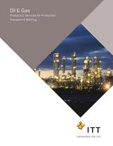 Products for the Oil and Gas Industry